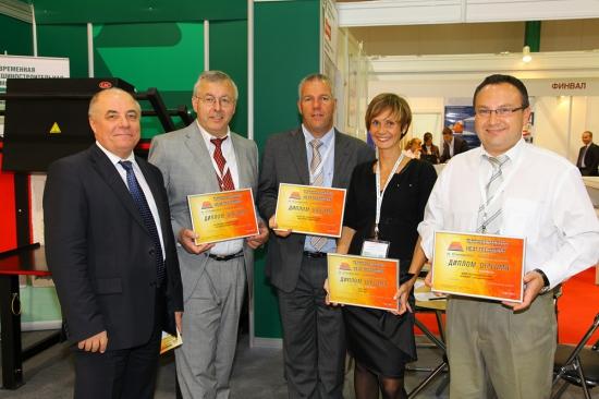 Шметц, БиЭмАй, ИВА, СМК- вручение дипломов - 2011