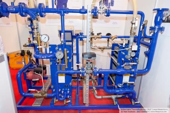 Cтенд компании Гидропоток - очистка и регулирование температуры промышленных жидкостей