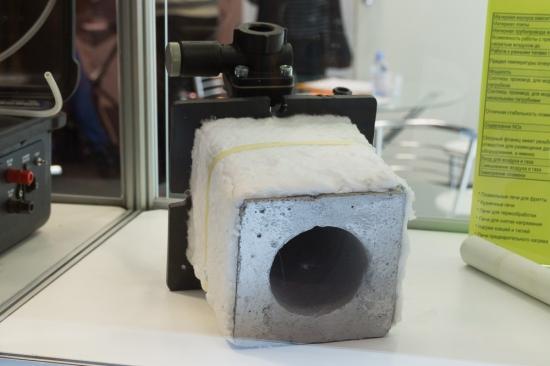 Изомат (в составе стенда Накал) промышленная теплоизоляция (Россия) 10-я выставка