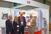 Вручение диплома компании IOB на выставке Термообработка - 2010
