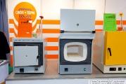 Cтенд компании Snol-Term, муфельные печи, лабораторное оборудование